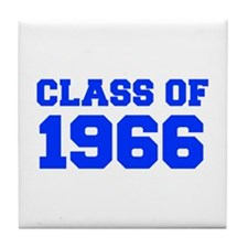 CLASS OF 1966-Fre blue 300 Tile Coaster