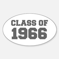 CLASS OF 1966-Fre gray 300 Decal