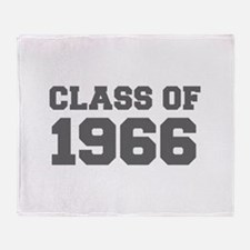 CLASS OF 1966-Fre gray 300 Throw Blanket