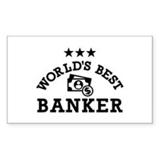 World's best banker Decal