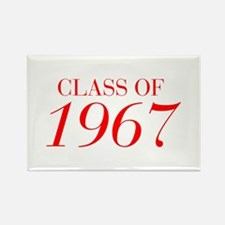 CLASS OF 1967-Bau red 501 Magnets
