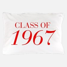 CLASS OF 1967-Bau red 501 Pillow Case