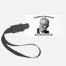 FDR: Kindness Luggage Tag
