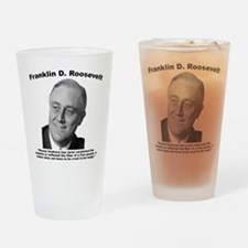 FDR: Kindness Drinking Glass