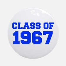 CLASS OF 1967-Fre blue 300 Ornament (Round)