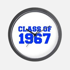 CLASS OF 1967-Fre blue 300 Wall Clock