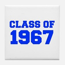 CLASS OF 1967-Fre blue 300 Tile Coaster