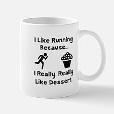 Running Dessert Mugs