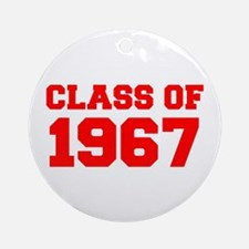 CLASS OF 1967-Fre red 300 Ornament (Round)