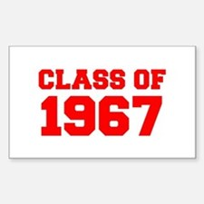 CLASS OF 1967-Fre red 300 Decal