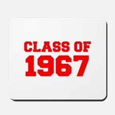 CLASS OF 1967-Fre red 300 Mousepad