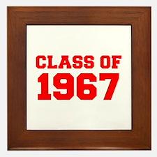 CLASS OF 1967-Fre red 300 Framed Tile