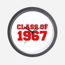 CLASS OF 1967-Fre red 300 Wall Clock
