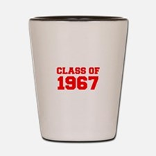 CLASS OF 1967-Fre red 300 Shot Glass