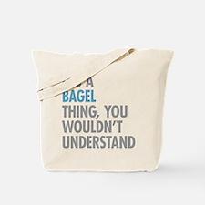 Bagel Thing Tote Bag