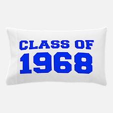 CLASS OF 1968-Fre blue 300 Pillow Case