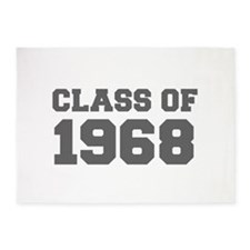 CLASS OF 1968-Fre gray 300 5'x7'Area Rug