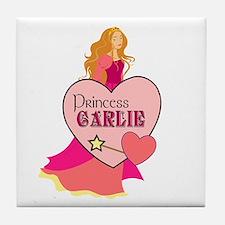 Princess Carlie Tile Coaster