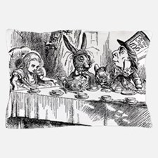 Alice in Wonderland Tea party Pillow Case