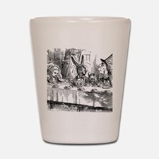 Alice in Wonderland Tea party Shot Glass