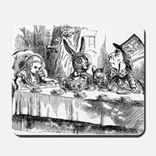 Alice in Wonderland Tea party Mousepad