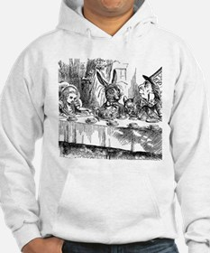 Alice in Wonderland Tea party Hoodie Sweatshirt