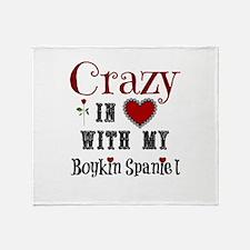 Boykin Spaniel Throw Blanket