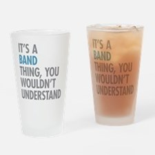 Band Thing Drinking Glass