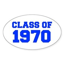 CLASS OF 1970-Fre blue 300 Bumper Stickers