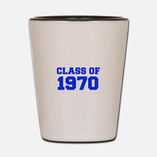 CLASS OF 1970-Fre blue 300 Shot Glass