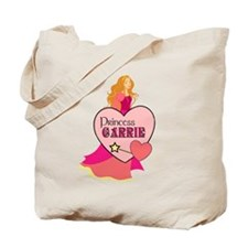 Princess Carrie Tote Bag