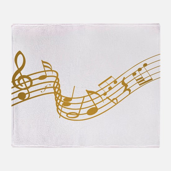 Musical (G) Throw Blanket