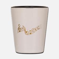 Musical (G) Shot Glass