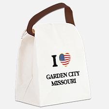 I love Garden City Missouri Canvas Lunch Bag