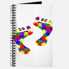 Footprints on your heart Journal