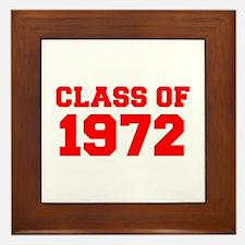 CLASS OF 1972-Fre red 300 Framed Tile
