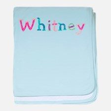 Whitney Princess Balloons baby blanket