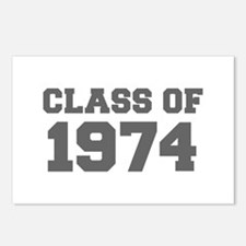 CLASS OF 1974-Fre gray 300 Postcards (Package of 8