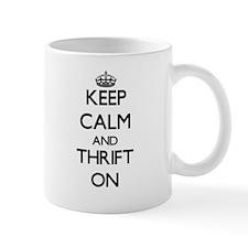 Keep Calm and Thrift ON Mugs