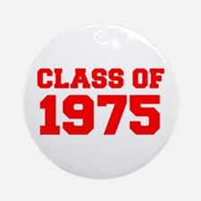 CLASS OF 1975-Fre red 300 Ornament (Round)