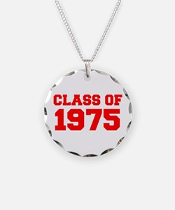 CLASS OF 1975-Fre red 300 Necklace