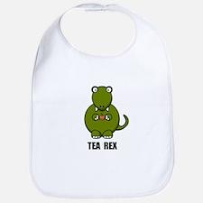Tea Rex Dinosaur Bib