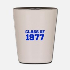 CLASS OF 1977-Fre blue 300 Shot Glass