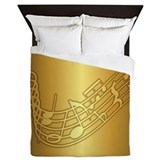 Musical notes bedding Duvet Covers
