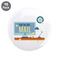 """Youve Got Mail 3.5"""" Button (10 pack)"""