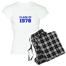 CLASS OF 1978-Fre blue 300 Pajamas