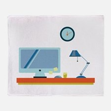 Office Throw Blanket