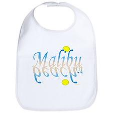 Funny Malibu beach california Bib