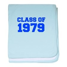 CLASS OF 1979-Fre blue 300 baby blanket
