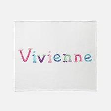 Vivienne Princess Balloons Throw Blanket